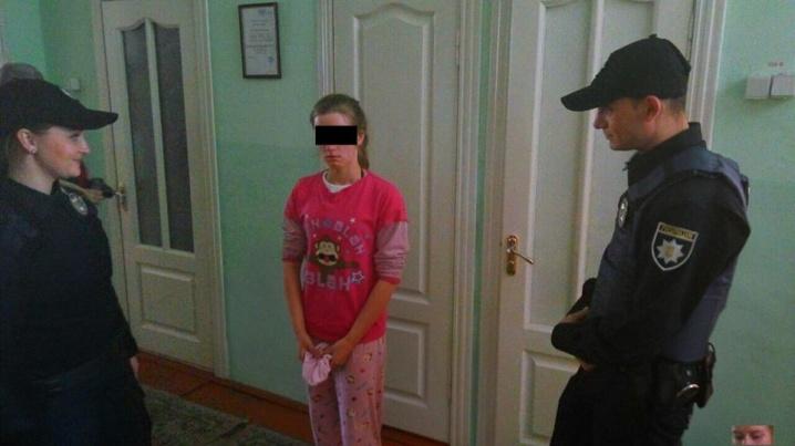 Поліція Чернівців знайшла дівчинку доволі оперативно