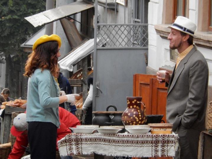У Чернівцях знімали фільм про єврейську родину, яка зазнала страждань під час голокосту
