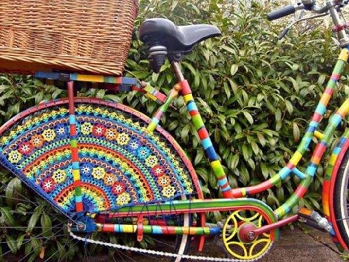 Как украсить колесо велосипеда своими руками 92