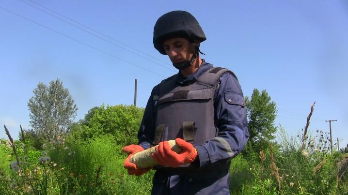На околиці Франківська, на березі Бистриці Надвірнянської надзвичайники знешкодили небезпечну знахідку
