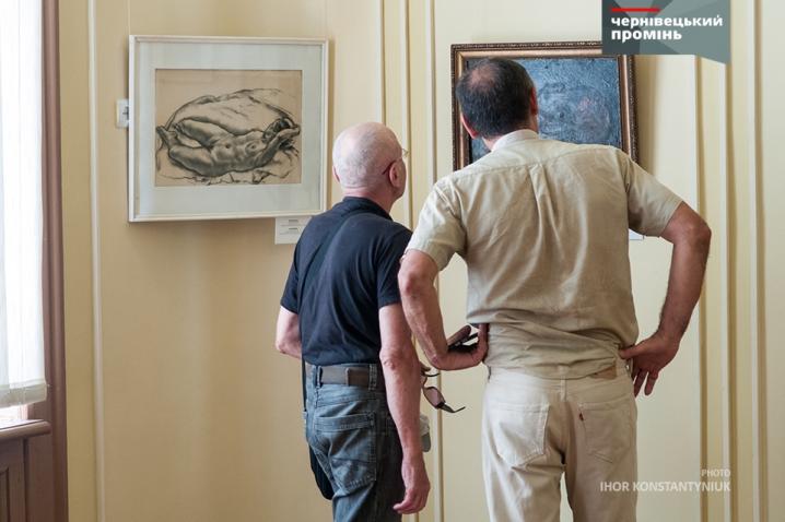 У Чернівцях відкрили виставку єврейських художників Буковини