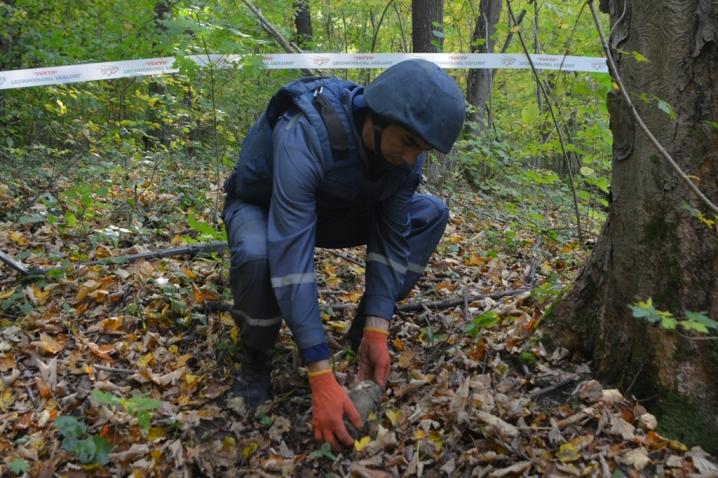 В передмістях Івано-Франківська люди натрапили на декілька небезпечних знахідок