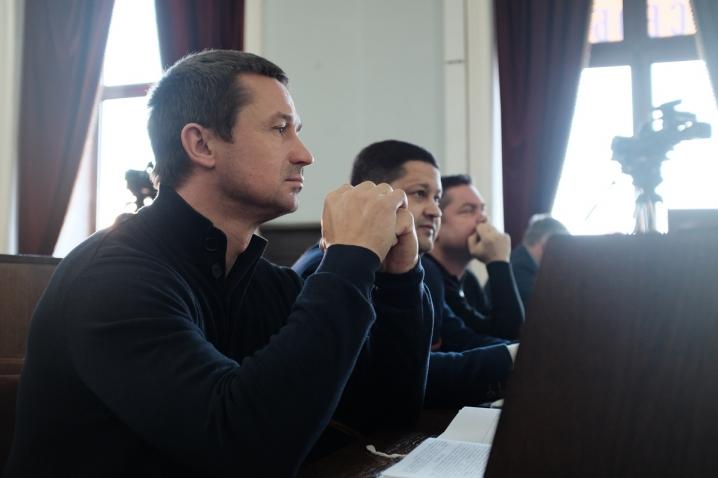 Сесія міської ради у фотографіях
