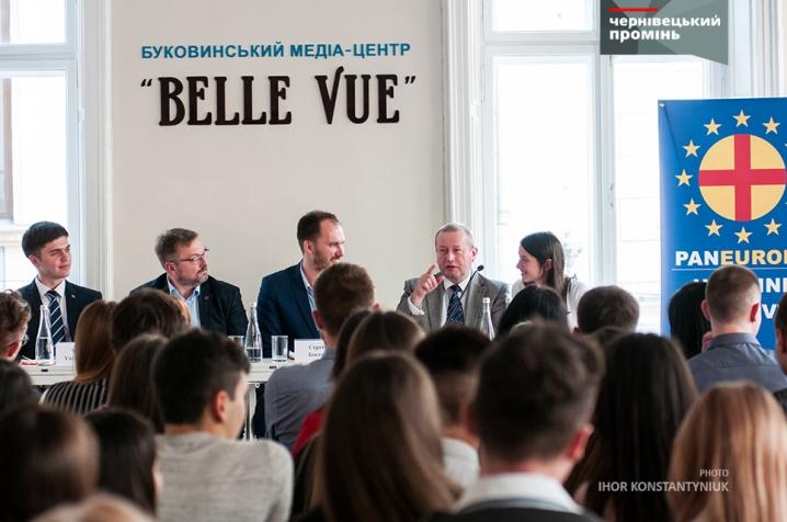 У Чернівцях генеральний секретар Пан'європейського руху Австрії розповів про важливість вступу України в ЄС