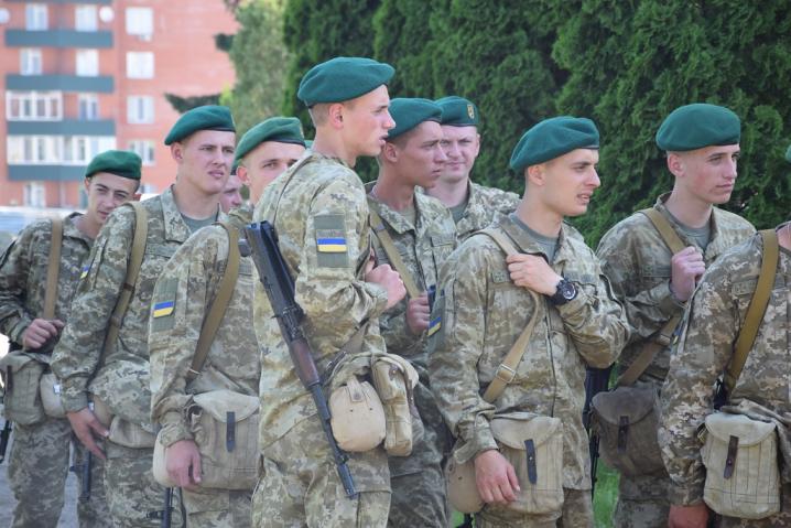 Строковики, які нещодавно прийняли присягу на Буковині, вже охороняють кордон