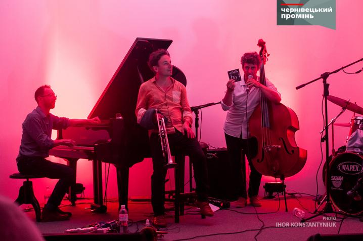 Французький квартет OLD AND NEW SONGS дав чернівчанам джазу
