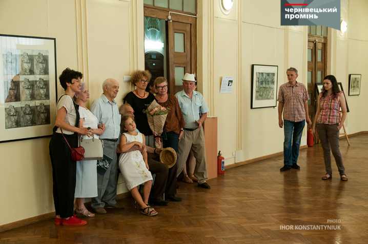 Київська художниця привезла до Чернівців витончені офорти
