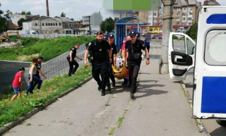 У Чернівцях 15-річний юнак намагався врятувати самогубця, який стрибнув з мосту
