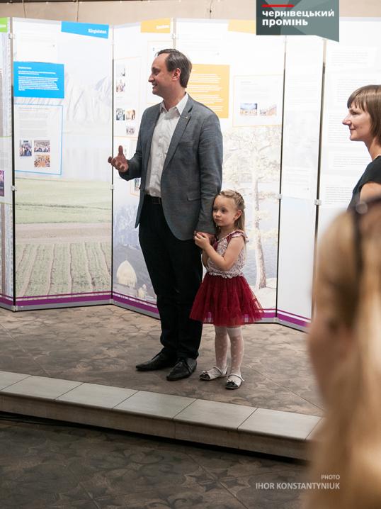 Інтерактивну виставку про життя німців Східної Європи презентували у Чернівцях