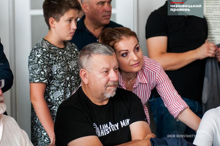 Брати Клички провели зустріч з Оксаною Продан у Чернівцях