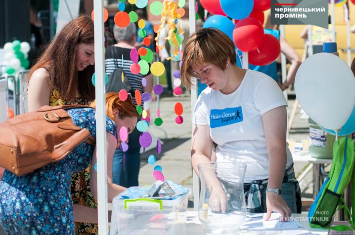 У Чернівцях розпочався освітній фестиваль «Маркет Мов»