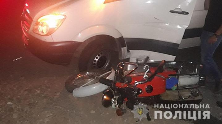 Протягом доби на Буковині трапилися дві ДТП за участі мотоциклів
