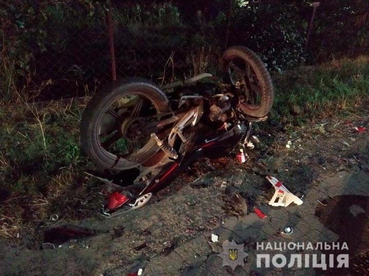 На Буковині зіткнулися два мотоцикли - двоє осіб загинули
