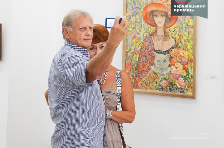 Буковинські художники презентували свої твори присвячені Дню Незалежності