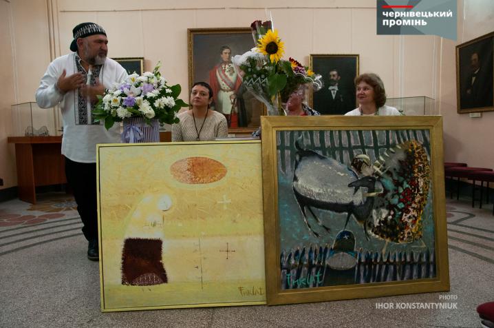Каталог живописних робіт Анатолія Фурлета презентували в Чернівецькому художньому музеї