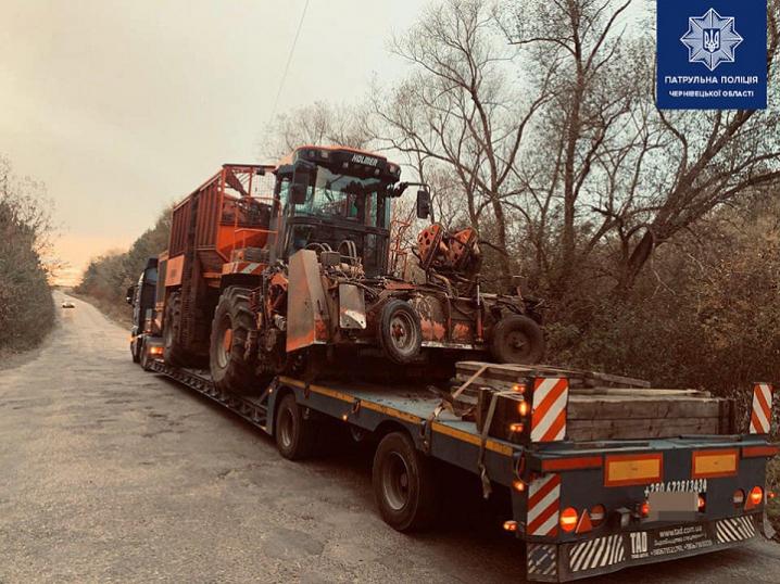 На Буковині оштрафували більше 400 водіїв, які перевозили великогабаритні вантажі без дозволів