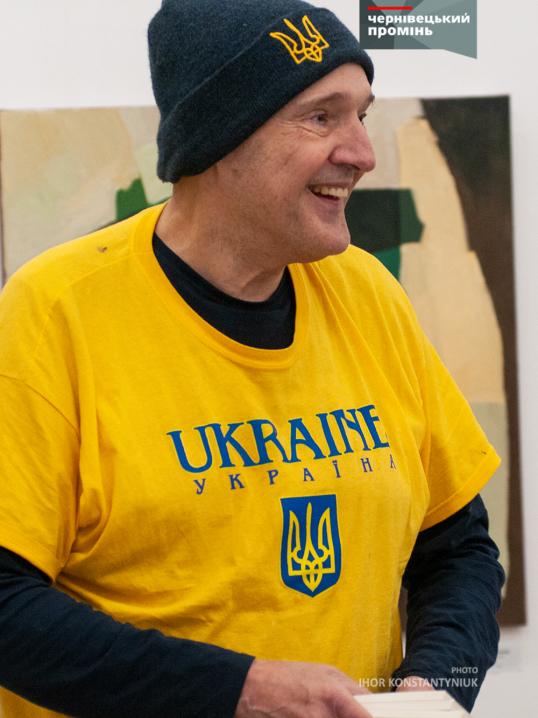 У Чернівцях презентували книжку американського поета «Українське серце», присвячену Революції гідності