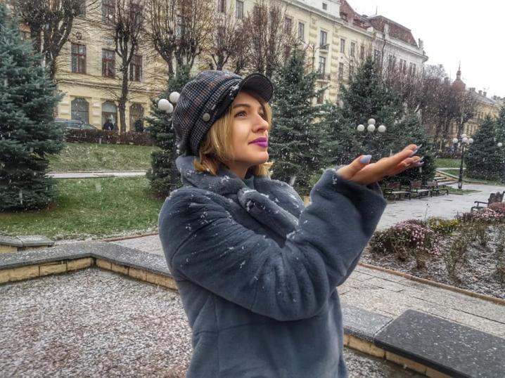У Чернівцях випав перший сніг