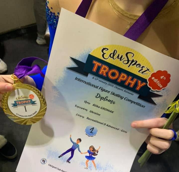 Чернівецькі фігуристки стали чемпіонками на міжнародному турнірі