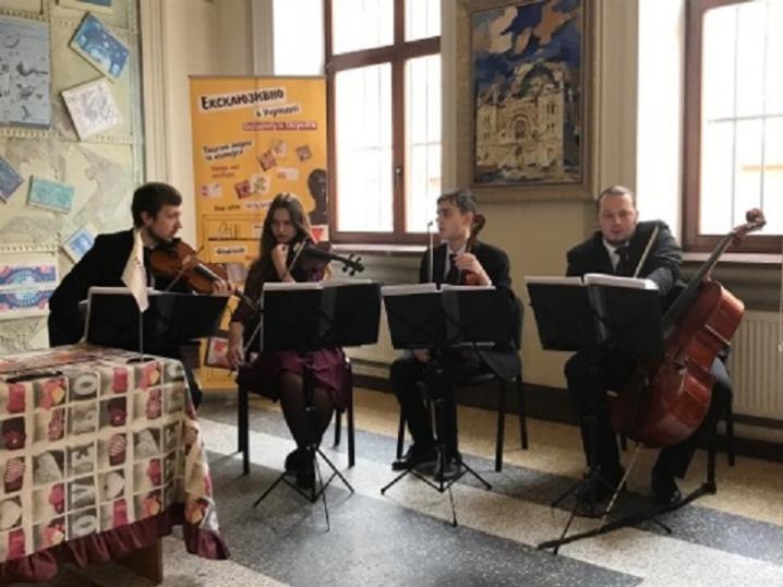У Чернівцях у рамках  InStrum Fest відбувся концерт квартету  «Ла Віва»
