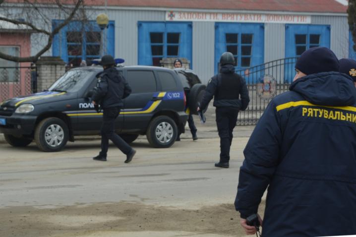 З Чернівецькими службами взаємодії СБУ провело навчання