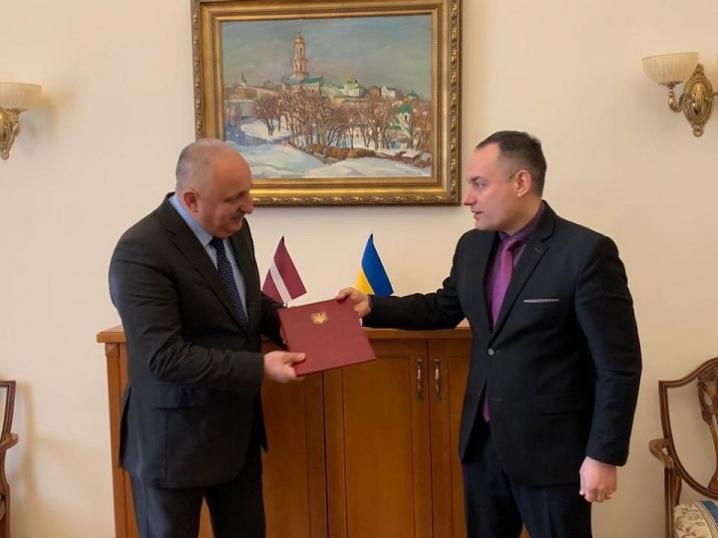 Ілля Хочь став почесним консулом Латвійської Республіки у Чернівецькій області