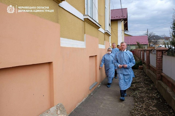 Буковинські медичні заклади перевіряють на готовність до коронавірусу