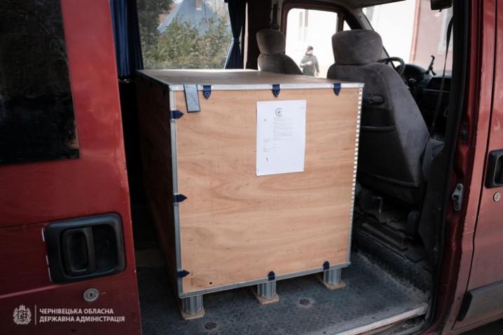 ПриватБанк передав медичне обладнання чернівецьким лікарням