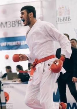 Чернівецький каратист Різван Талібов здобув важливу  перемогу для України