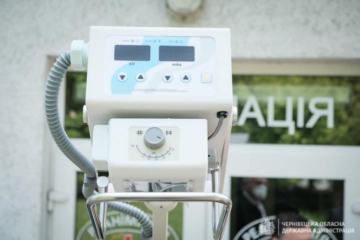 Посольство Австрії в Україні передало Чернівецькій обласній дитячій лікарні мобільний рентген-апарат