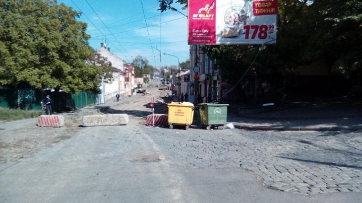 Ремонт дороги на вулиці Руській: коли буде готова проїжджа частина