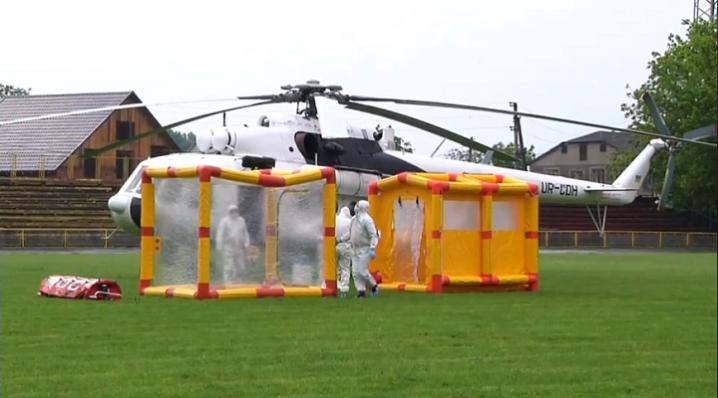 Евакуація на санітарному вертольоті Мі-8 можлива на відстань 1200 км, - Сергій Осачук