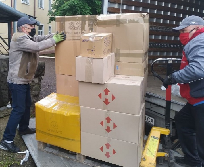 Сторожинецька ЦРЛ отримала гуманітарну допомогу