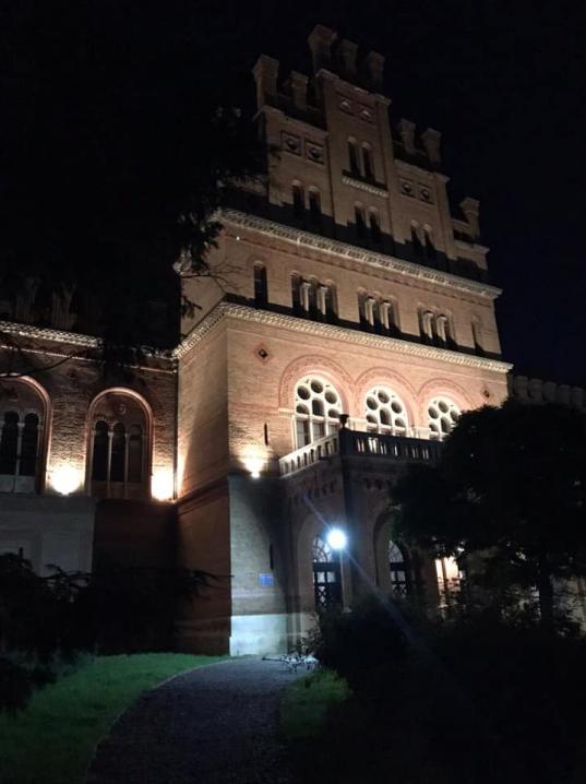 Резиденцію підсвітили до річниці внесення її до спадщини ЮНЕСКО