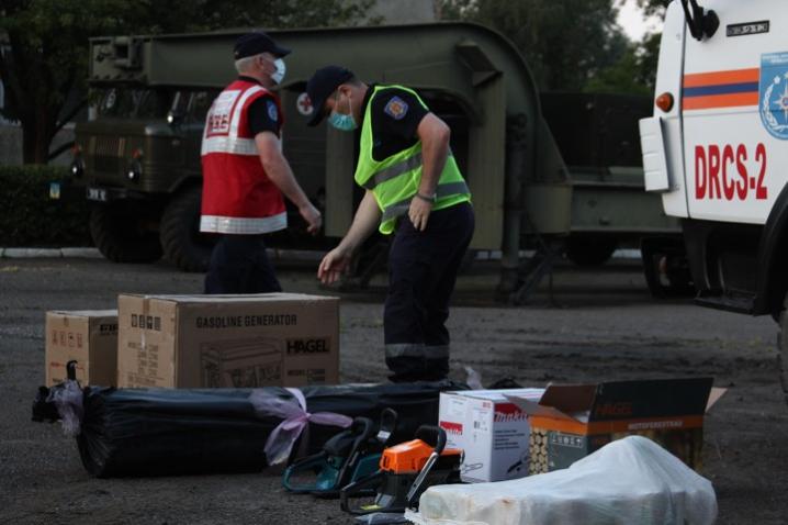 Молдова передала Буковині гуманітарну допомогу вартістю 40 тисяч євро