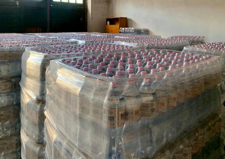 Посольство Ізраїлю в Україні передало Буковині бутильовану питну воду для постраждалих від паводку районів