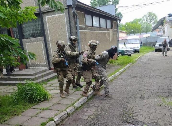 У Чернівцях провели спеціальні антитерористичні навчання
