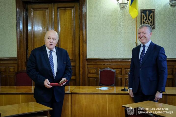 Сергій Осачук вручив буковинцям державні нагороди