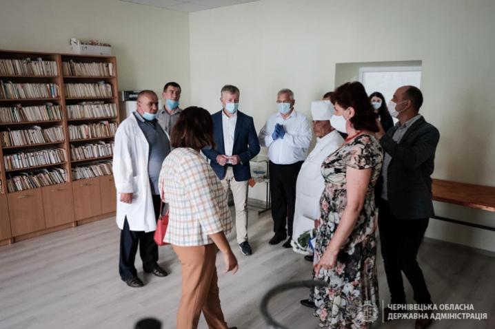 На Герцаївщині відкрили реконструйовану амбулаторію