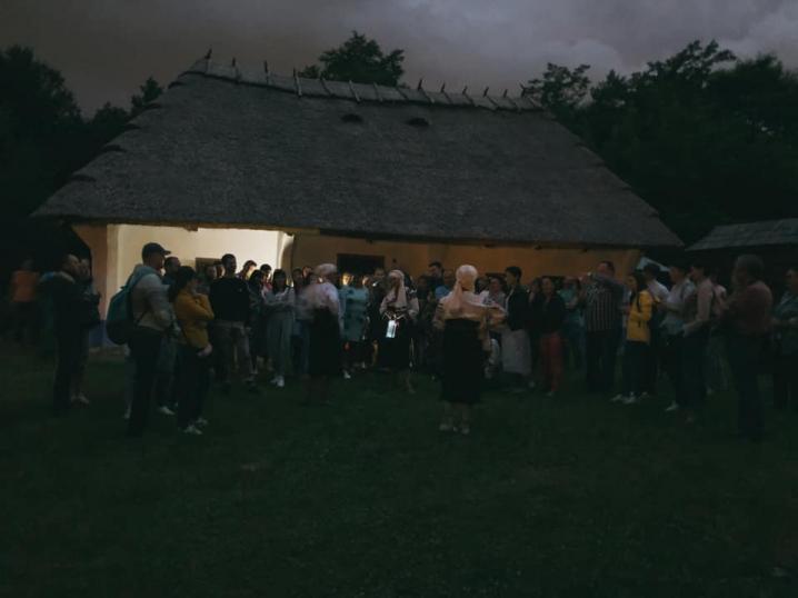 У музеї просто неба відбулася нічна театралізована екскурсія - фото