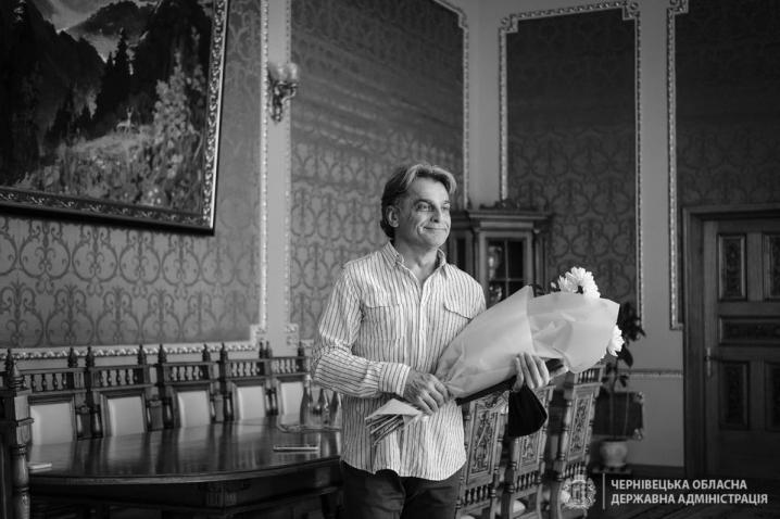 У Чернівцях артисту драмтеатру Андрію Циганку вручили обласну мистецьку премію імені Сіді Таль
