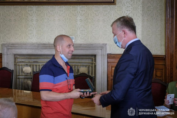 У Чернівцях вручили нагороди спортсменам та тренерам