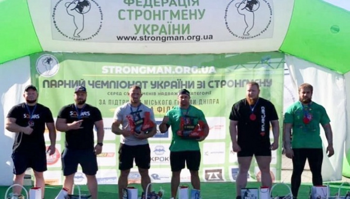 Чернівецький богатир виграв чемпіонат зі стронгмену