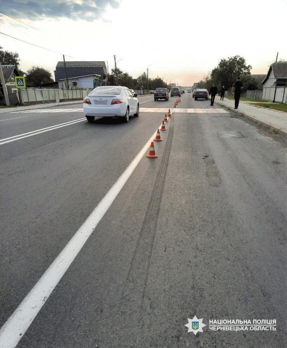 На Буковині у двох ДТП постраждали пішоходи: потерпілих госпіталізували
