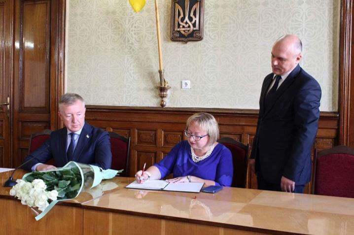 Людвига Цуркан стала новою очільницею департаменту освіти і науки Чернівецької ОДА