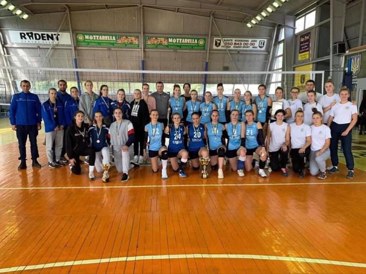 У Чернівцях відбулися Всеукраїнські змагання з волейболу серед жіночих команд
