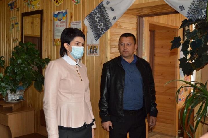 Ірина Ісопенко перевірила роботу закладів культури у Красноїльській ОТГ
