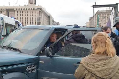 На Майдані Незалежності в Києві сталася масштабна ДТП, є жертви