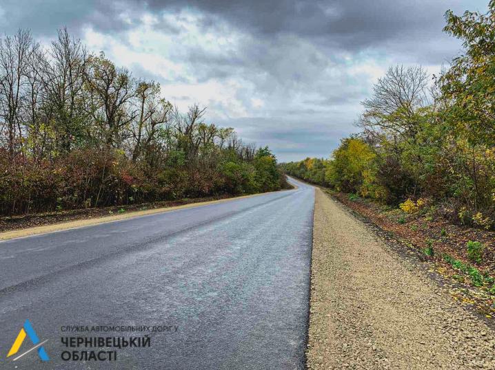 На Хотинщині завершили ремонт  6,4 км дороги
