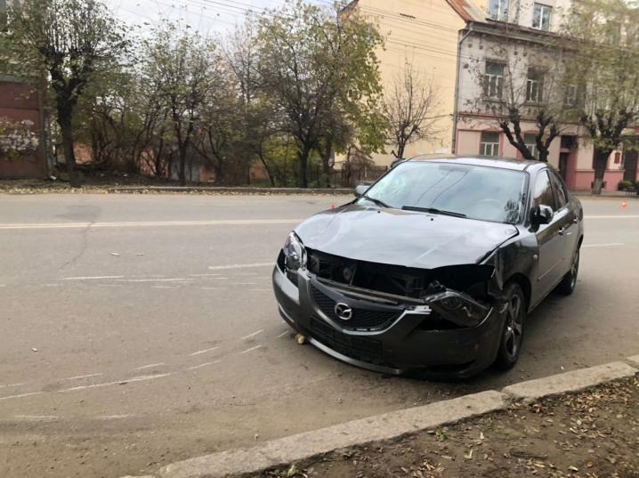 ДТП на вулиці Героїв Майдану: збили людину(ФОТО, ВІДЕО)